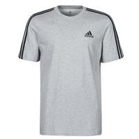 Clothing Men Short-sleeved t-shirts adidas Performance M 3S SJ T Grey