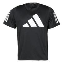 Clothing Men Short-sleeved t-shirts adidas Performance FL 3 BAR TEE Black