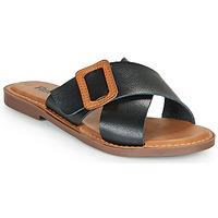 Shoes Women Mules Refresh TRAFFA Black