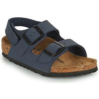 Shoes Boy Sandals Birkenstock MILANO HL Blue