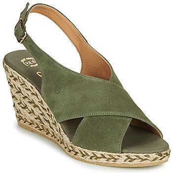 Shoes Women Sandals Betty London OHINDRA Kaki