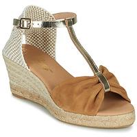 Shoes Women Sandals Betty London OREINOA Camel