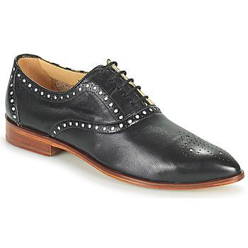 Shoes Women Derby Shoes Melvin & Hamilton JESSY 61 Black