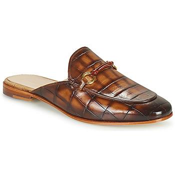 Shoes Women Mules Melvin & Hamilton SCARLETT 4 Brown