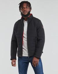 Clothing Men Duffel coats Guess  Black / Orange