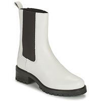 Shoes Women Mid boots Betty London OLANDI White