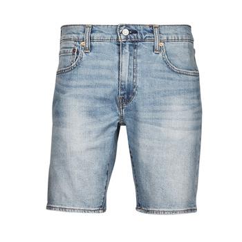 Clothing Men Shorts / Bermudas Levi's 411 Slim Short Blue