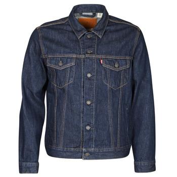 Clothing Men Denim jackets Levi's THE TRUCKER JACKET Blue
