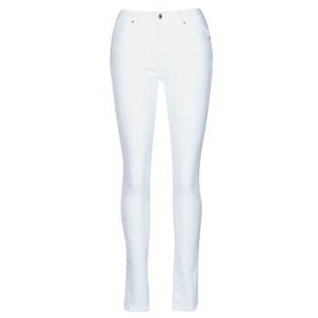 Clothing Women Skinny jeans Levi's 721 HIGH RISE SKINNY White