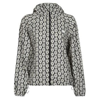 Clothing Women Macs Levi's LINA PACKABLE WINDBRKR Beige / White / Black