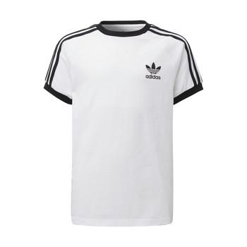 Clothing Children Short-sleeved t-shirts adidas Originals DV2901 White
