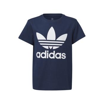Clothing Children Short-sleeved t-shirts adidas Originals GD2679 Blue