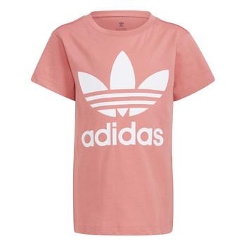 Clothing Children Short-sleeved t-shirts adidas Originals HOULILA White