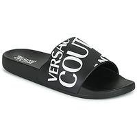 Shoes Men Sliders Versace Jeans Couture TENNIA Black / White