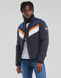Clothing Men Jackets Teddy Smith B-SKI Marine