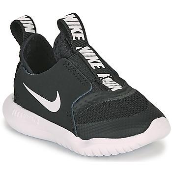 Shoes Children Running shoes Nike FLEX RUNNER TD Black / White