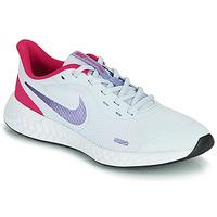 Shoes Girl Multisport shoes Nike REVOLUTION 5 GS Blue / Purple