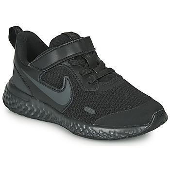 Shoes Children Multisport shoes Nike REVOLUTION 5 PS Black