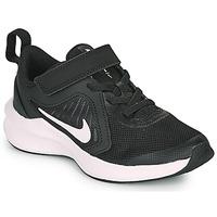 Shoes Children Multisport shoes Nike DOWNSHIFTER 10 PS Black / White