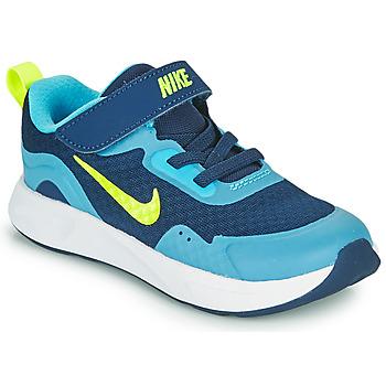 Shoes Boy Multisport shoes Nike WEARALLDAY TD Blue / Green