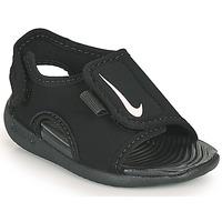 Shoes Children Sliders Nike SUNRAY ADJUST 5 V2 TD Black