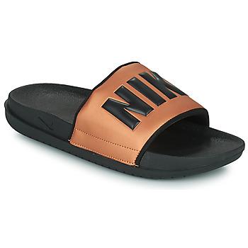 Shoes Women Sliders Nike NIKE OFFCOURT Black / Bronze