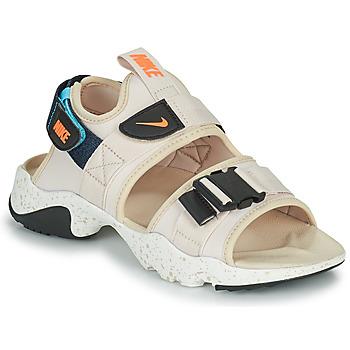 Shoes Women Sliders Nike NIKE CANYON Beige