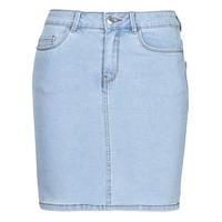 Clothing Women Skirts Vero Moda VMHOT SEVEN Blue / Clear