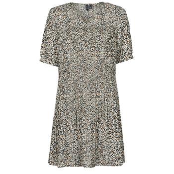 Clothing Women Short Dresses Vero Moda VMELIN Beige