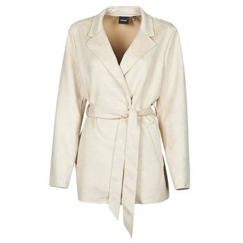 Clothing Women Trench coats Vero Moda VMNAPOLI Beige