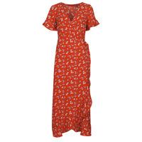 Clothing Women Long Dresses Vero Moda VMSAGA Red