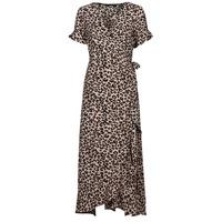 Clothing Women Long Dresses Vero Moda VMSAGA Beige