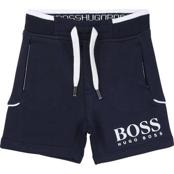 Clothing Boy Shorts / Bermudas BOSS NOLLA Marine