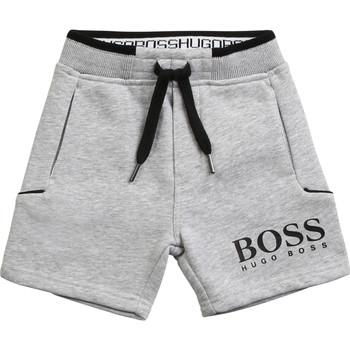 Clothing Boy Shorts / Bermudas BOSS NOLLA Grey