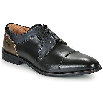 Shoes Men Derby Shoes Redskins WINDSOR Black / Marine / Grey