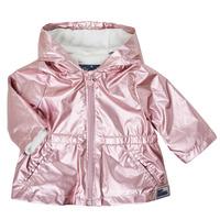 Clothing Girl Parkas Ikks XS42010-31 Pink