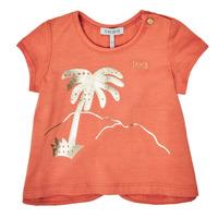 Clothing Girl Short-sleeved t-shirts Ikks XS10080-67 Orange