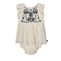 Clothing Girl Short Dresses Ikks XS30060-11 White
