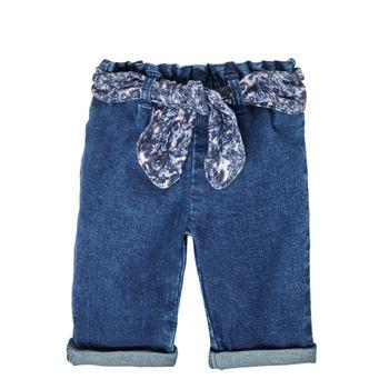 Clothing Girl Straight jeans Ikks XS29000-86 Blue