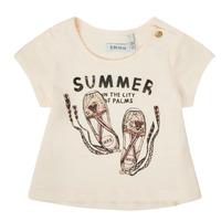 Clothing Girl Short-sleeved t-shirts Ikks XS10090-11 White