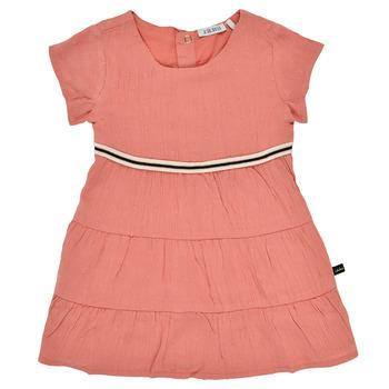 Clothing Girl Short Dresses Ikks XS30090-67 Orange