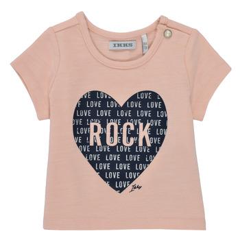 Clothing Girl Short-sleeved t-shirts Ikks XS10120-31 Pink