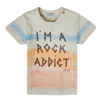 Clothing Boy Short-sleeved t-shirts Ikks XS10061-60 Multicolour