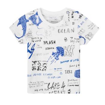 Clothing Boy Short-sleeved t-shirts Ikks XS10021-19 Multicolour
