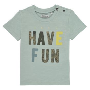 Clothing Boy Short-sleeved t-shirts Ikks XS10131-50 Blue