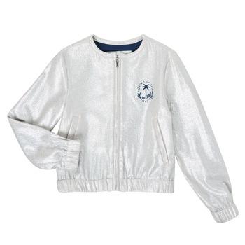 Clothing Girl Jackets / Blazers Ikks XS17042-18-J Silver