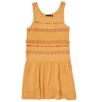 Clothing Girl Short Dresses Ikks XS31012-74-J Orange