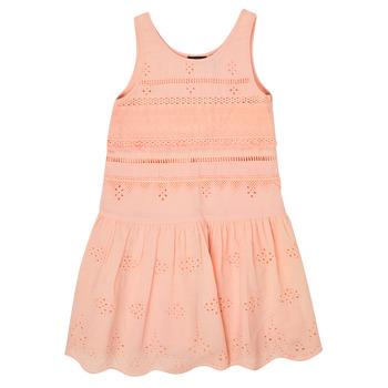 Clothing Girl Short Dresses Ikks XS31012-32-J Pink