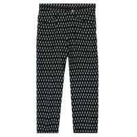 Clothing Girl Wide leg / Harem trousers Ikks XS22002-02-J Black