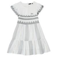 Clothing Girl Short Dresses Ikks XS30012-11-J White